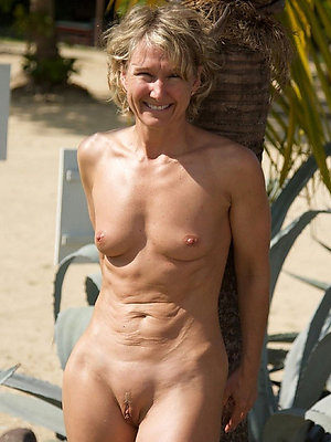 gorgeous mature beach nudists