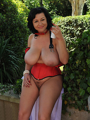 unsightly heavy saggy of age boobs