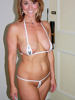 magnificent hot mature bikini