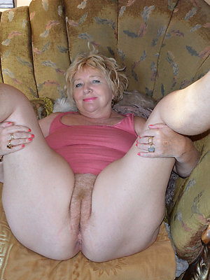 Not blonde mature hot nude for