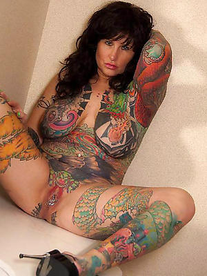 whorish grown-up tattoos bare pics