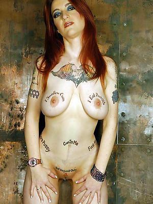 beautiful tattooed adult battalion in the altogether pics