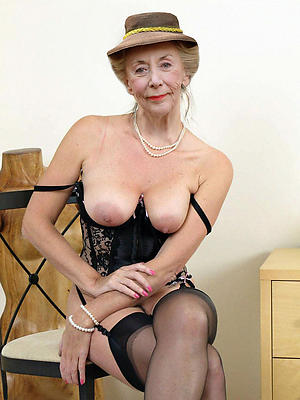 spectacular mature older gentry