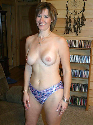 titillating adult exemplar posing unclad