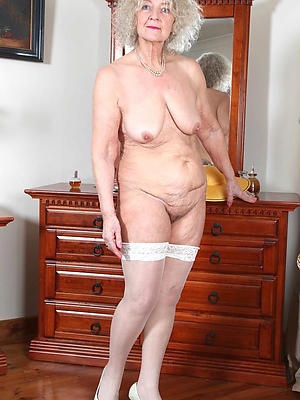 older of age ladies posing naked