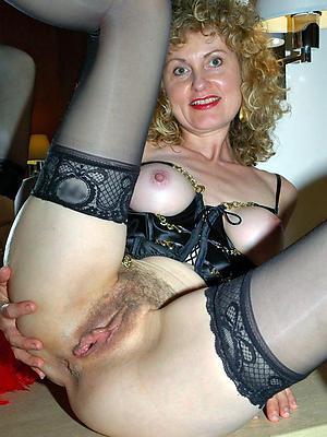 elegant unartificial adult women