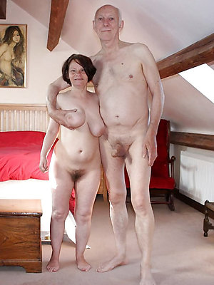 mature older couples stripped