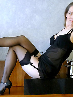 homemade matures in the air nylons posing stark naked
