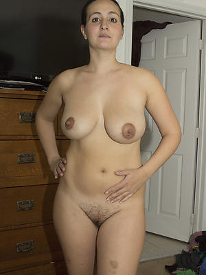 beautiful natural mature woman