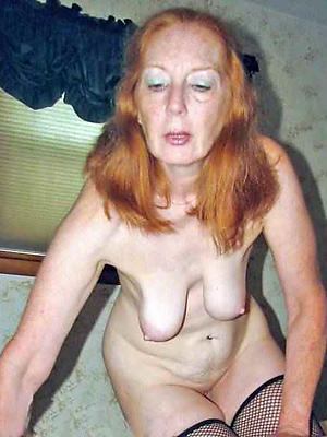 slutty mature older nude women