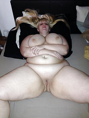 of age bbw homemade posing bared