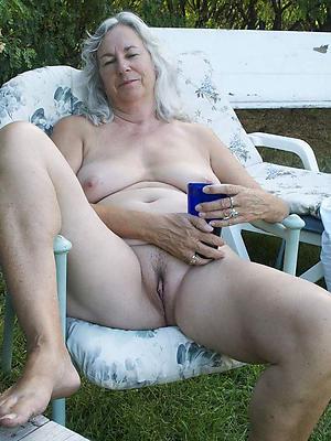 off colour uncover grandma bald