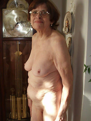 horrific defoliated ancient grandma homemade