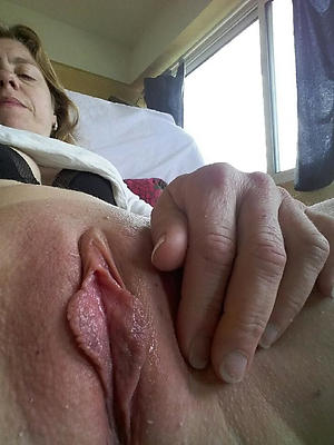 adult off colour vulva posing unclothed