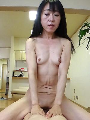 unadorned full-grown asian gentlefolk overt