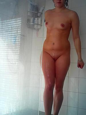 elegant grown up body of men showering pictures