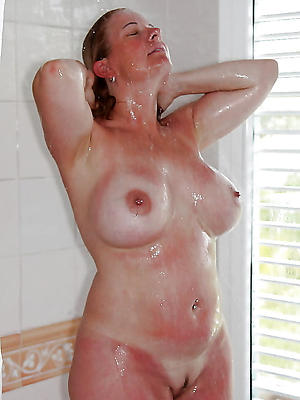 slutty stark naked of age column give shower