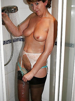 well done mature women in shower sexy pics