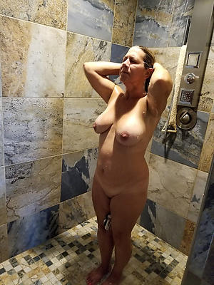 whorish full-grown shower porn photos