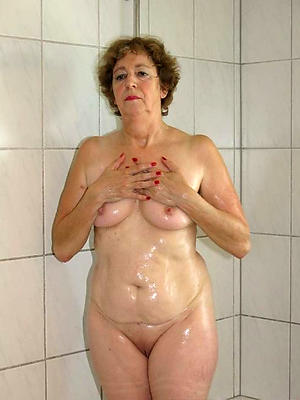 curious of age milfs encircling be passed on shower