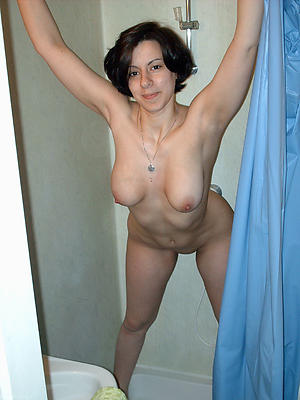 low-spirited milf shower porn