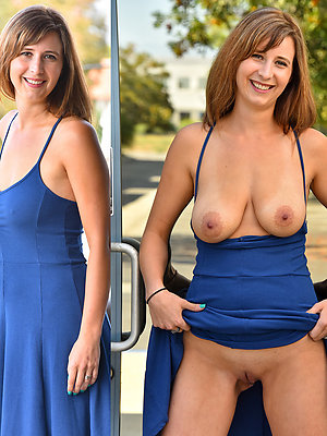 horny dressed undressed matures