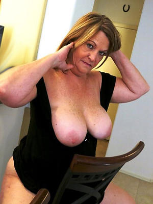 homemade older mature hairy stripped
