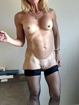 low-spirited mature close by nylons hallow porn