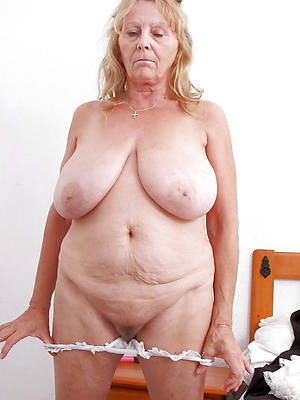 sexy hot old matured starkers women