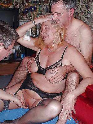 slutty mature threesome sex pics