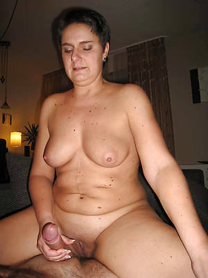 superb mature handjob nude pics