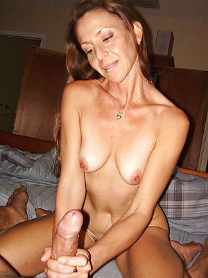 beautiful mature women handjobs nude pictures