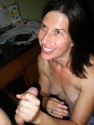 nasty mature mom handjob