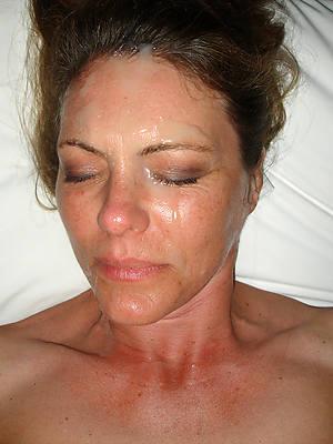 porn pics of mature amateur facial