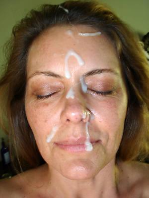 slutty mature non-professional facial