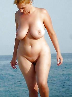 xxx unorthodox mature big natural gut nude pictures
