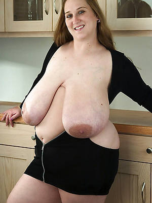heavy superannuated saggy tits