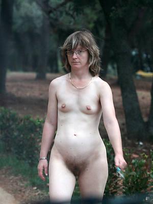mature nude small Bristols stripped