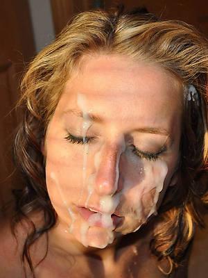 hotties mature facials porn galleries