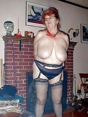 hot sexy grandma posing nude