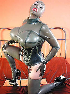 beautiful horny mature latex pics