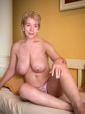 mature moms over 50 posing nude