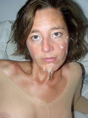 comely naked mature women facials photos