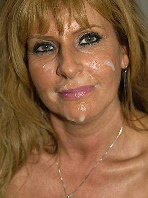 hot amateur mature women facials leafless