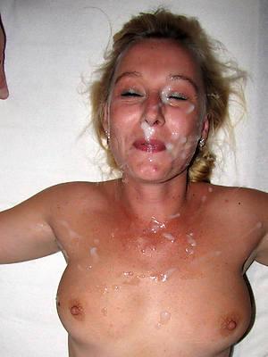hot mature cum facials slut pictures