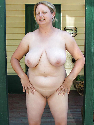 full-grown white wife transparent body