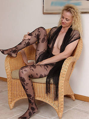 incomparable matures with the addition of nylons tits pics