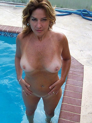 superb busty full-grown mom