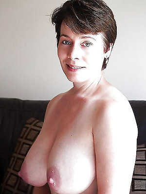 curious grown up inflated nipples