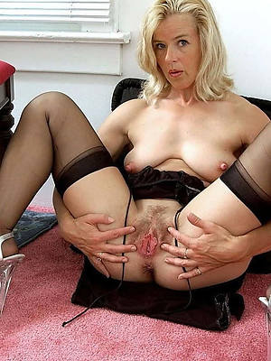 saleable mature vulvas stripped
